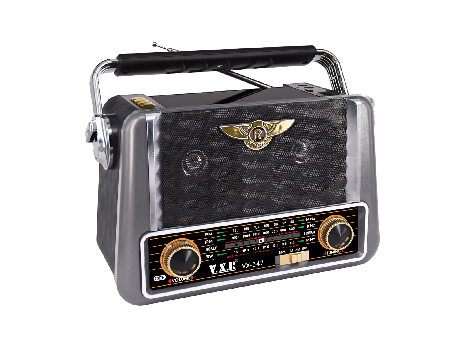 Imagen de producto Radio portatil 3 bandas 0