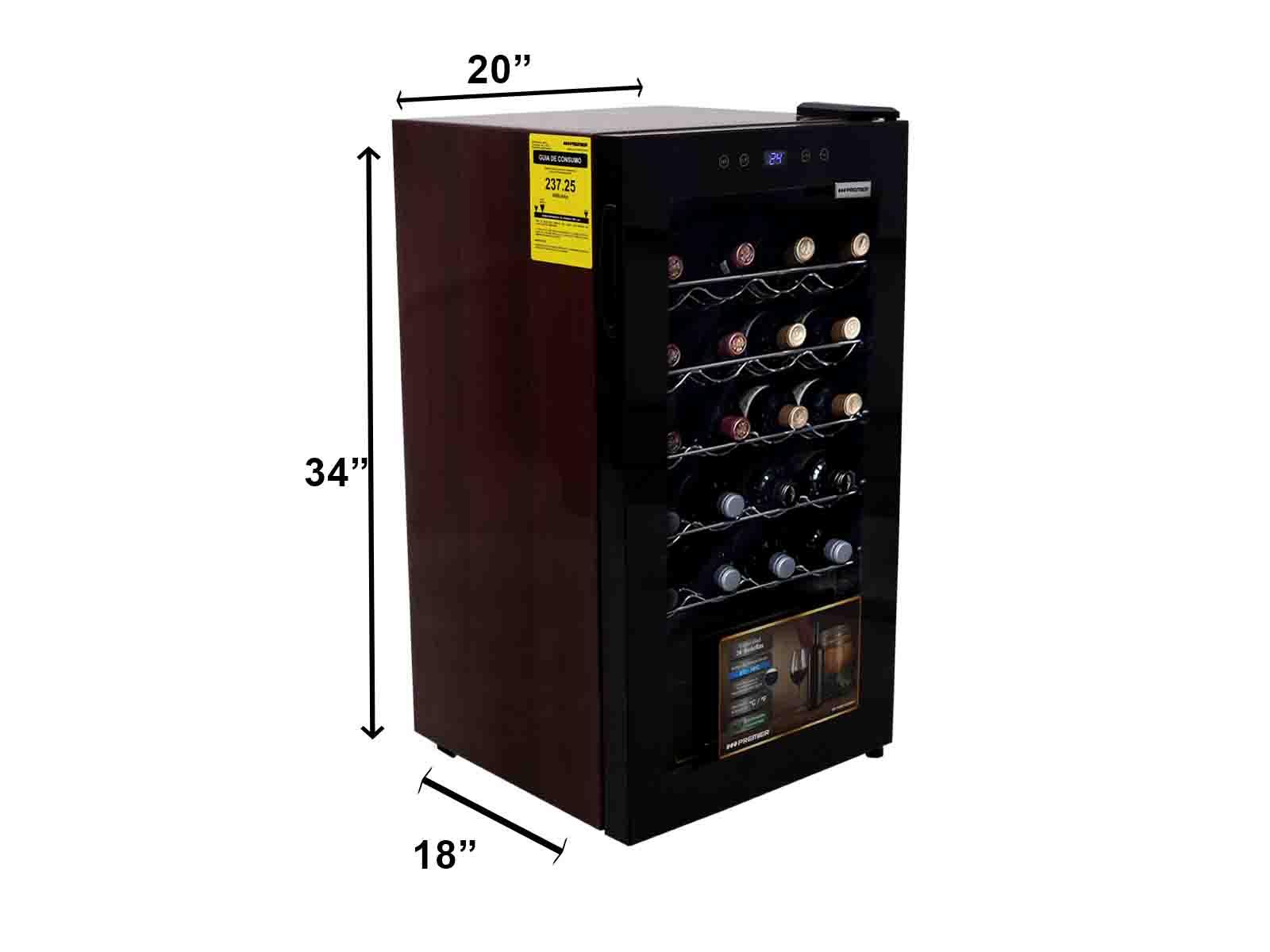 Imagen de producto Vinera electrica 24 bts, 100l/3.5pc 6