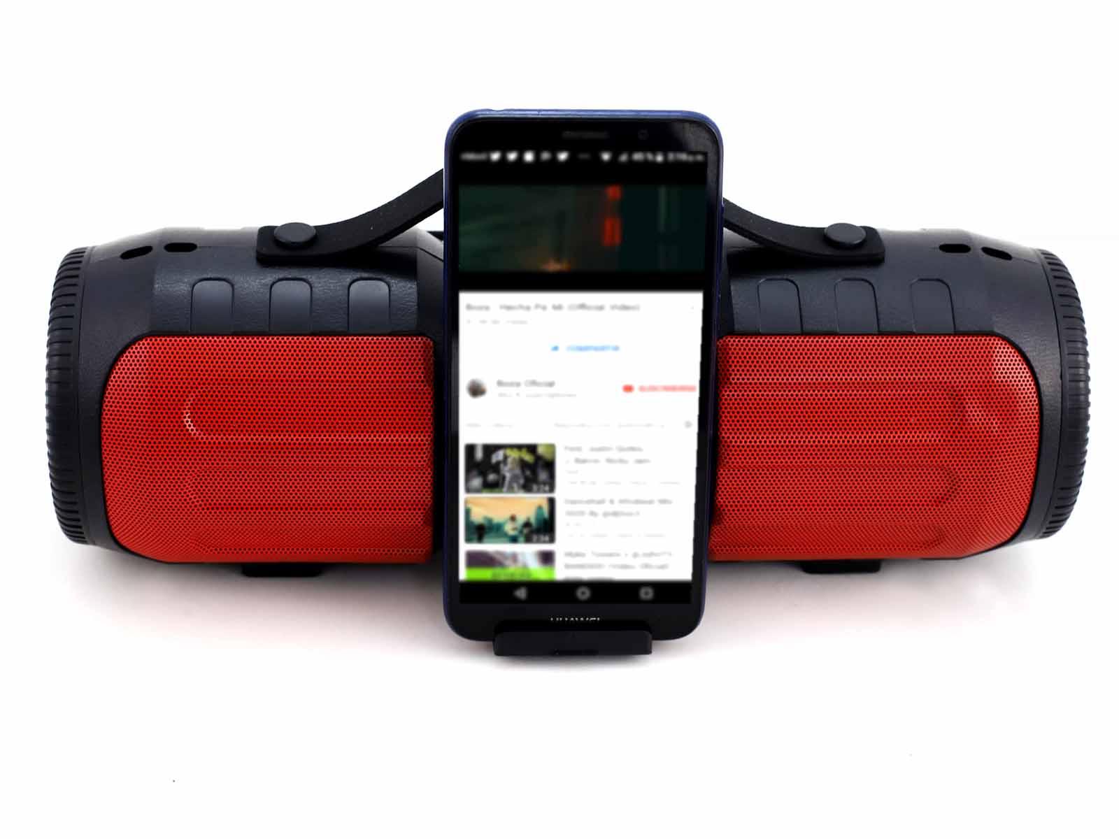 Imagen de producto Parlante portatil multimedia con bateria recargable 2
