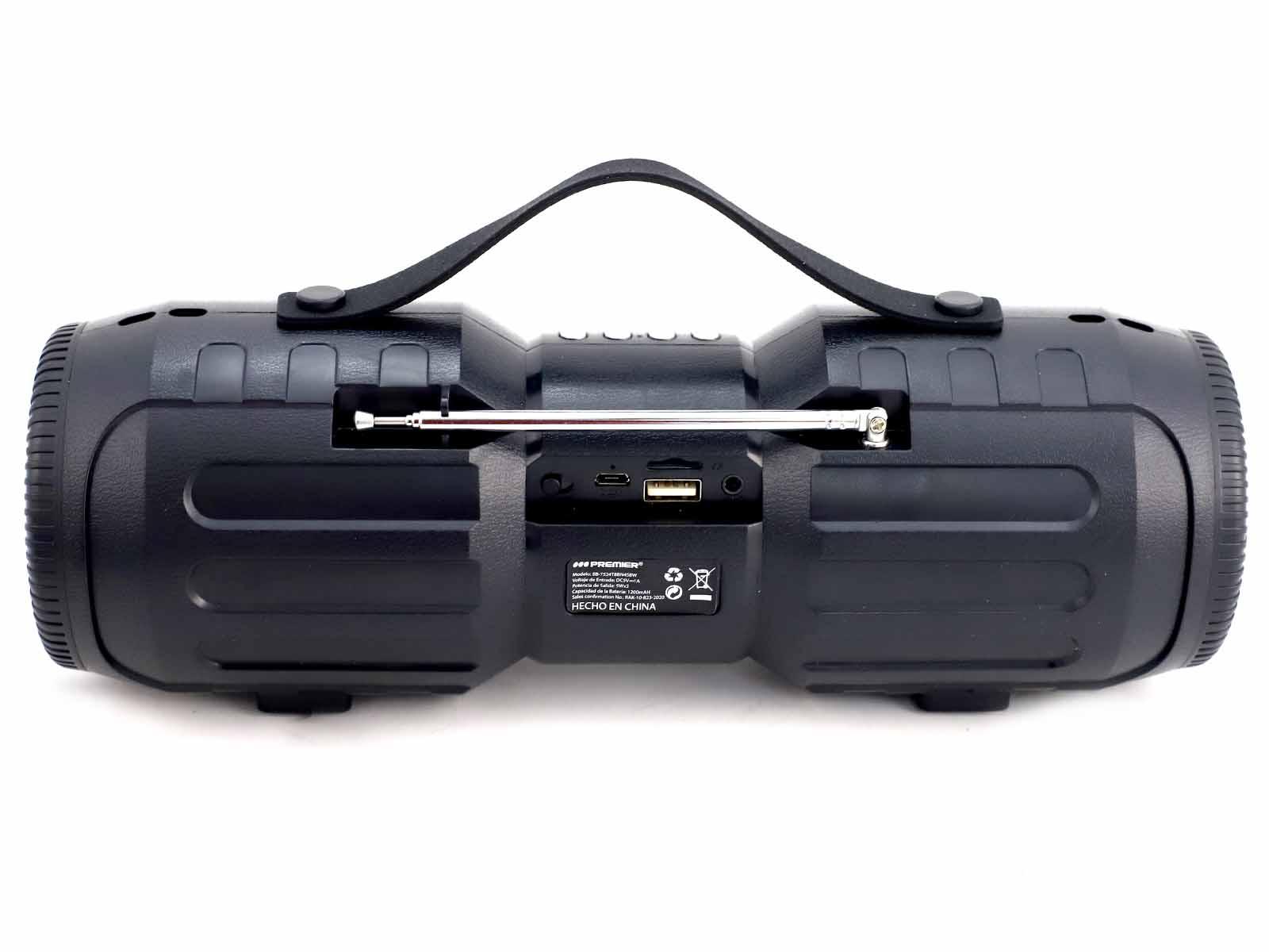 Imagen de producto Parlante portatil multimedia con bateria recargable 8