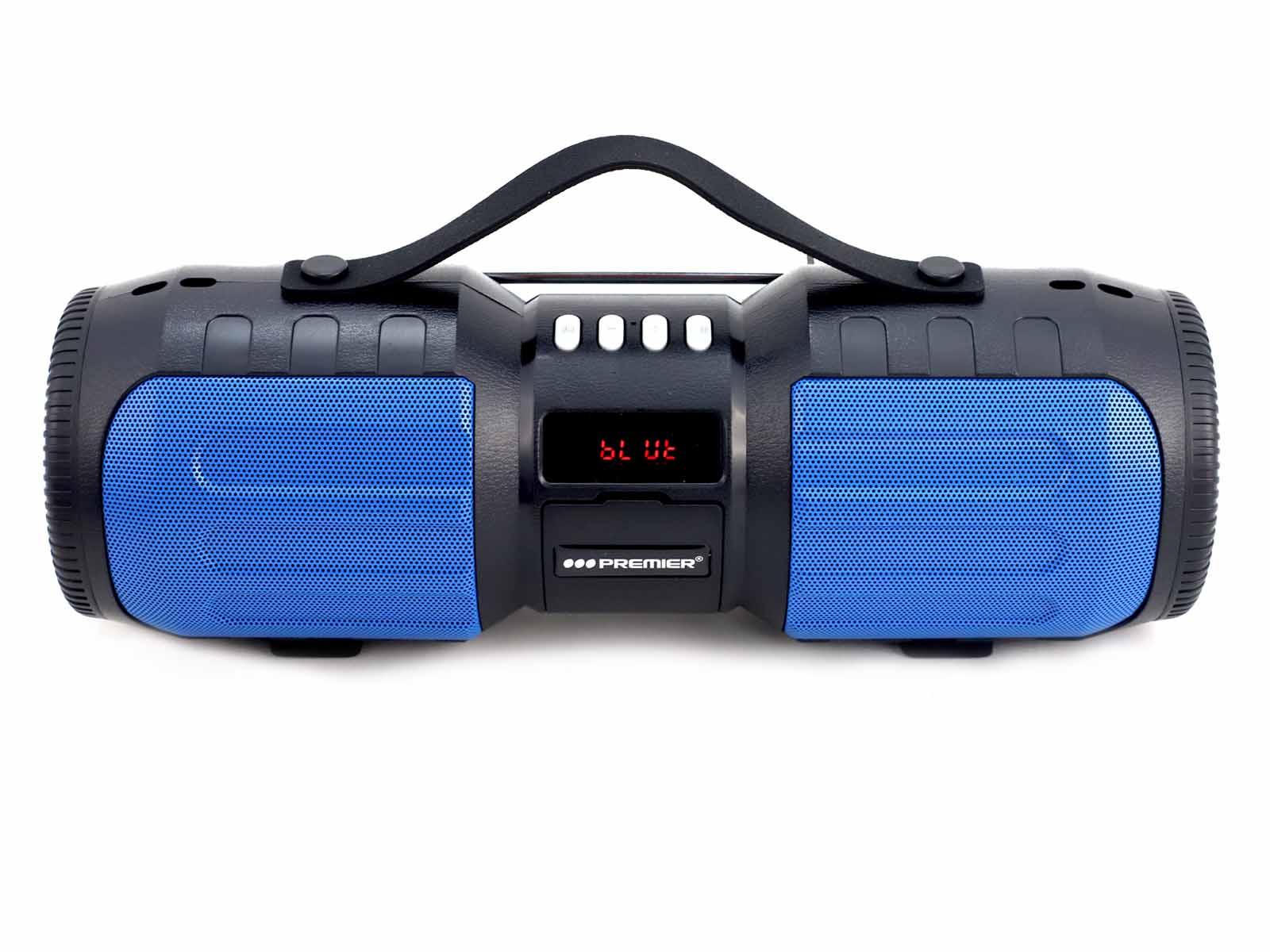 Imagen de producto Parlante portatil multimedia con bateria recargable 12