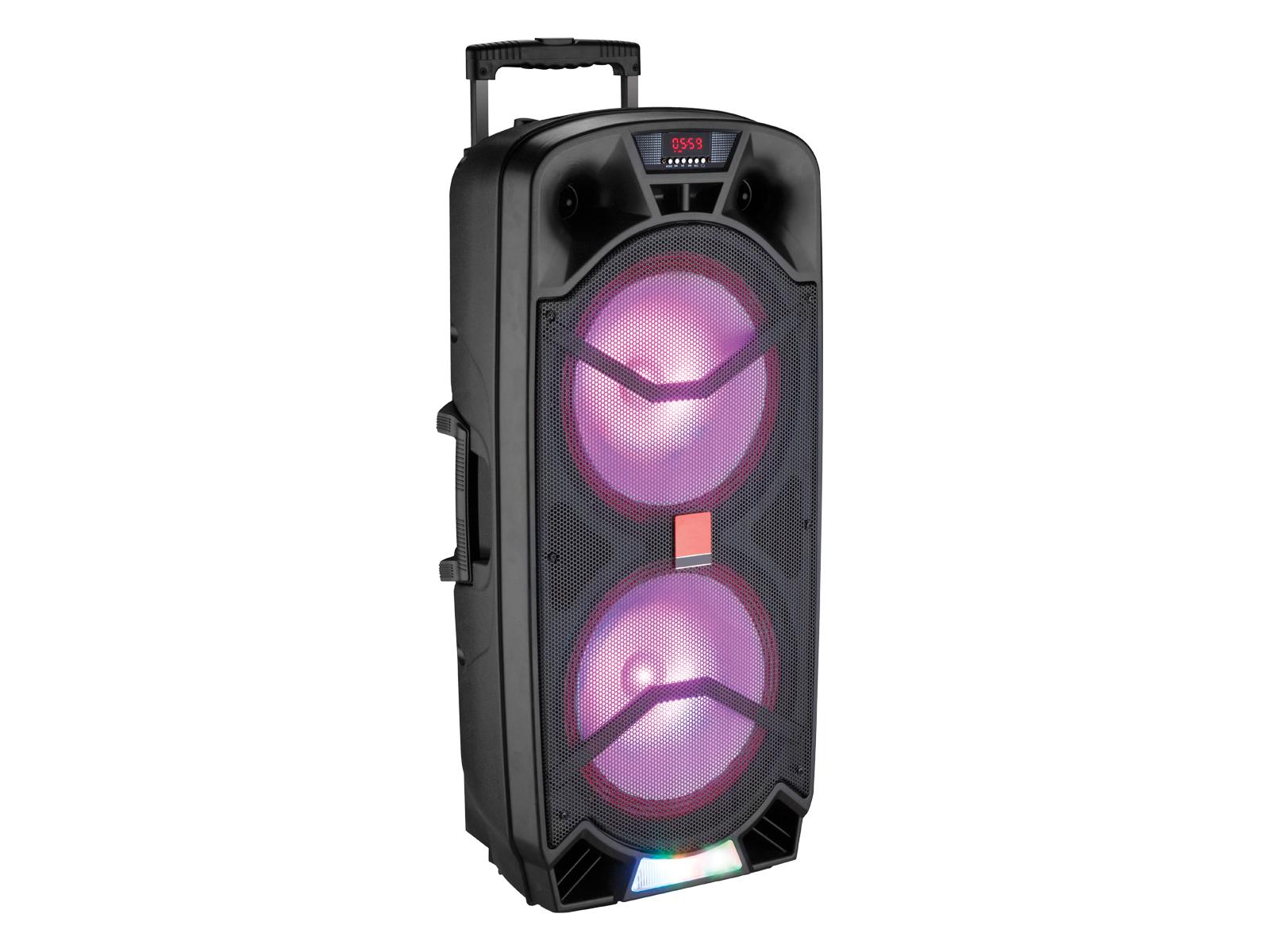 Imagen de producto Bocina rec/usb/tf/bt/luz/fm/mic 0