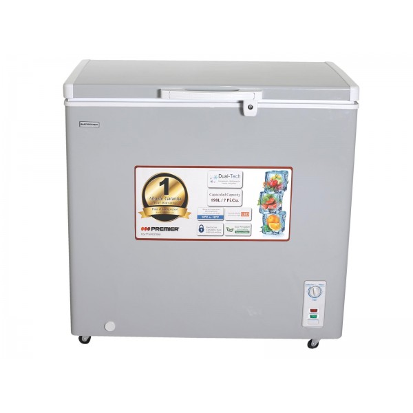 Imagen del producto Congelador tipo baul 198l/7pc