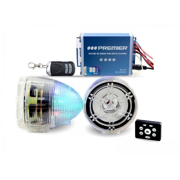 Imagen del producto Sistema de sonido para moto