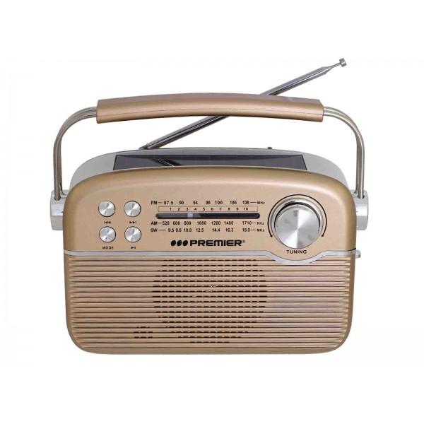 Imagen del producto Radio portatil 3 bandas recargable