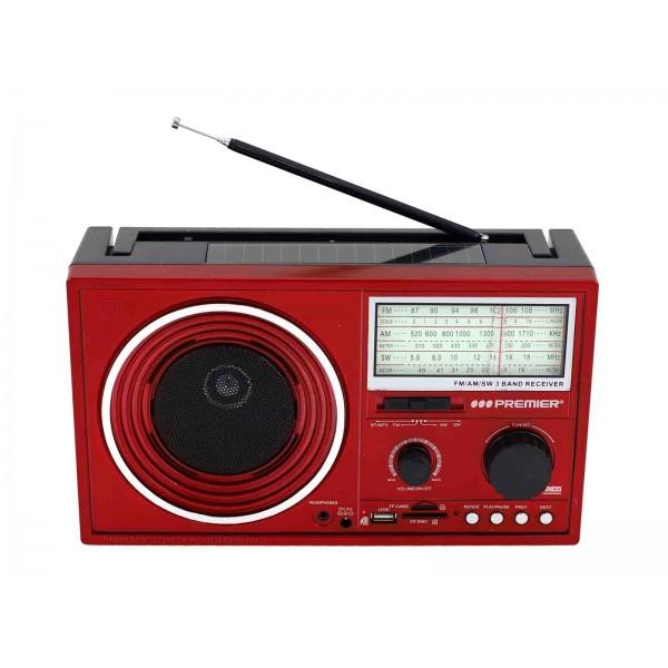 Imagen del producto Radio multimedia 3 bandas recargable