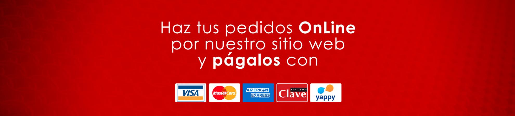Banner pedido y pago online